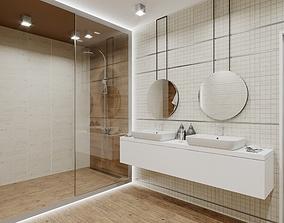 Minos Bathroom Scene for Cinema 4D and Corona Renderer 3D