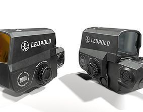 3D model Leupold Carbine Optic Red Dot Sight
