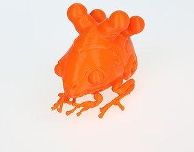 3D printable model FrogShell