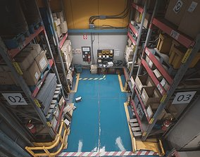 UE4 - Storage House Set 3D asset
