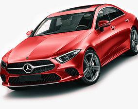 Mercedes-Benz CLS 2018 3D