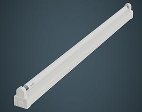 Fluorescent Bulb 3A 3D asset