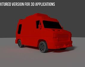 Ducato 1987 3D Model for Games and 3D Printers