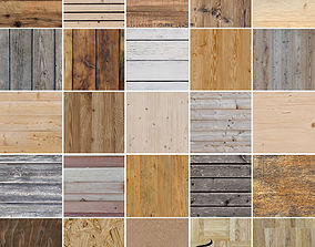 25 Seamless Wood Textures 3D