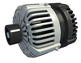 Automobile Vehicle Alternator 3D