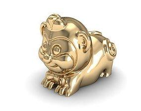 12 animal monkey 3D print model