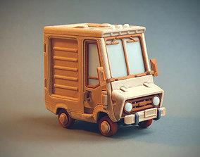3D print model Piggy Van Jr