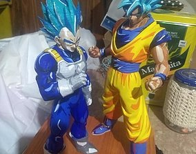3D print model Vegeta - Super Saiyan Armor