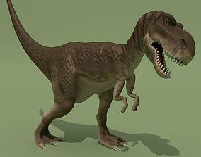 3D asset Tyrannosaur Rigged