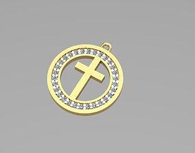 3D printable model Cross necklaces