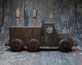 Pen stand Truck 3D printable model