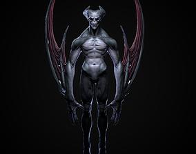 3D printable model Demon