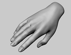 Female Hand Printable