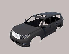 3D print model Toyota Land Cruiser Prado