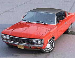3D model animated AMC Matador Coupe 1972