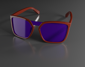 Eyeglasses 3D printable model