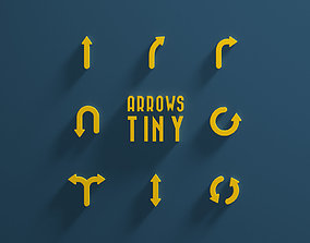 3D model Arrows Tiny
