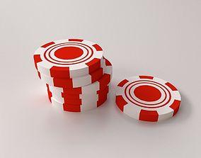3D model Game Chip