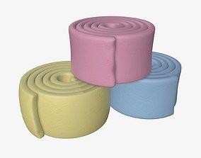 Chewing gum 02 3D model