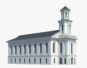 exterior Church 3D