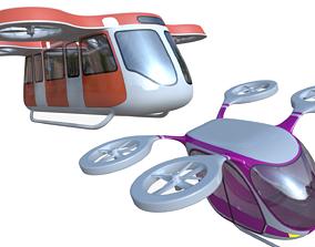 3D model Passenger drones generic