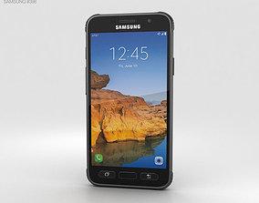 Samsung Galaxy S7 Active Titanium Gray 3D model