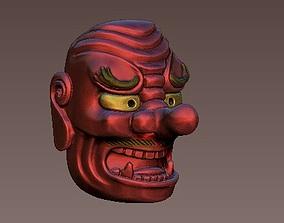 3D printable model Tengu mask
