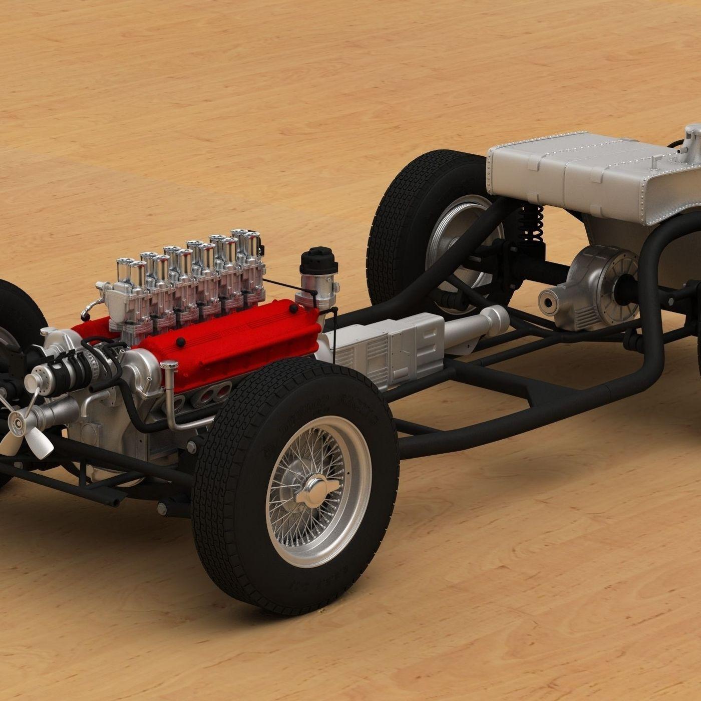 3D Printed Ferrari 250 Testa Rossa