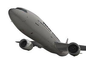 Boeing 777-200ER Japan Airlines JAL 3D model