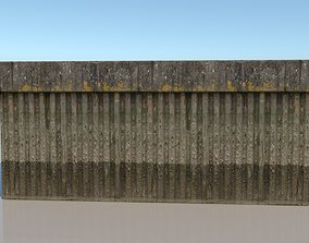 3D model Canal or dock Wall Material - VRay Shader Texture