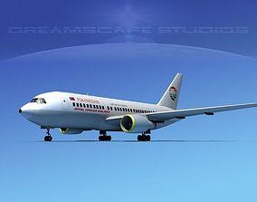 Boeing 767-200ER Polynesian 3D model