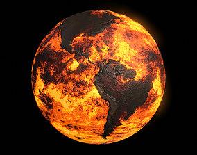 3D asset Scorched Earth v3 - 8k PBR