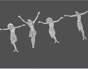 Jesus pendants collection 3D print model