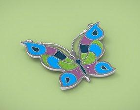 Pendants butterfly 3D printable model