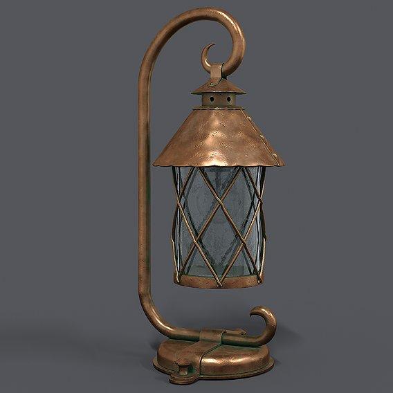 German Historical Garden Light