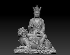 Ksitigarbha Buddha 3D