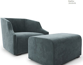 Gallotti and Radice First Armchair 3D