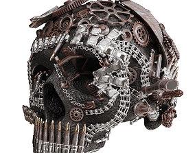 3D Skull Figurine N 01