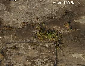 3D model Aerial texture 307