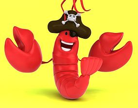 Fun Lobster 3D