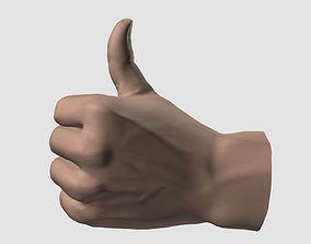 3D model Thumb up hand