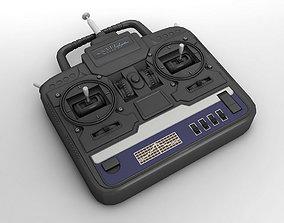 3D model RC Radio Transmitter Remote Controller