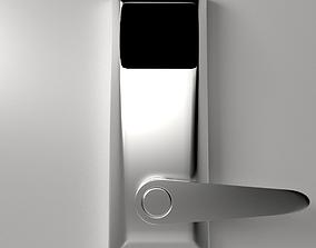 3D model Keycard RFID Sensor Lock