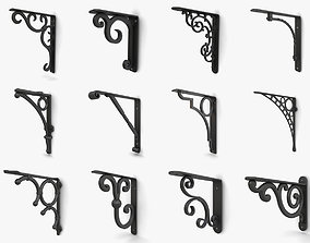 3D model Wall brackets collection vol 4