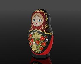 3D model Matryoshka Russian doll