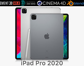 Apple iPad Pro 11 and 12-9 inch 2020 3D