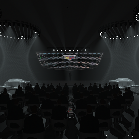 Cadillac Intro show concept
