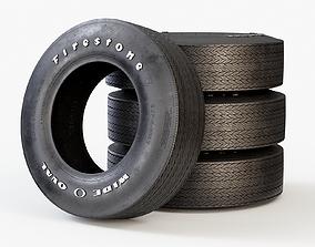 3D Classic Car Tyre Firestone F70