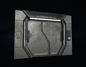 Sci-Fi Door Version 1 3D model