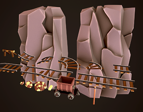 LowPoly MineAssets low-poly